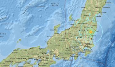 日本茨城地區晚間發生規模6.3地震 暫無海嘯警報/20161228