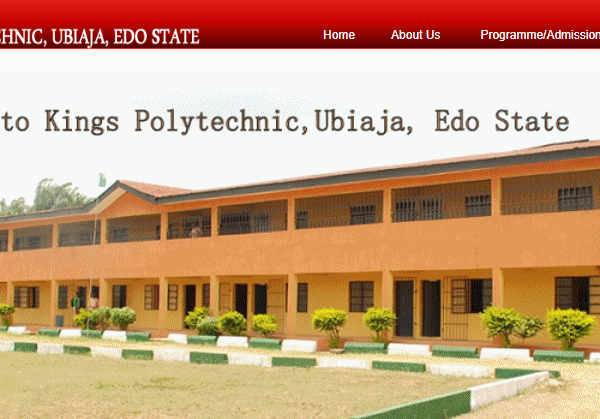 Kings Polytechnic Ubiaja: Courses, School Fees & Admission Requirements 2020/2021 Session- www.KingsPolytechnic.com.ng