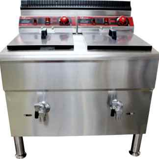 Gas Deep Fryer 17 liter Fomac FRY-G172
