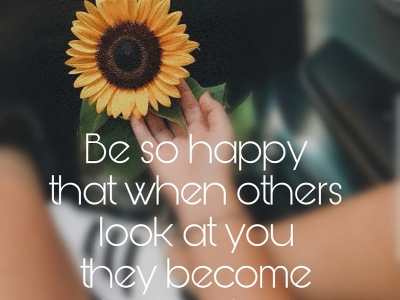Quote – Be so happy