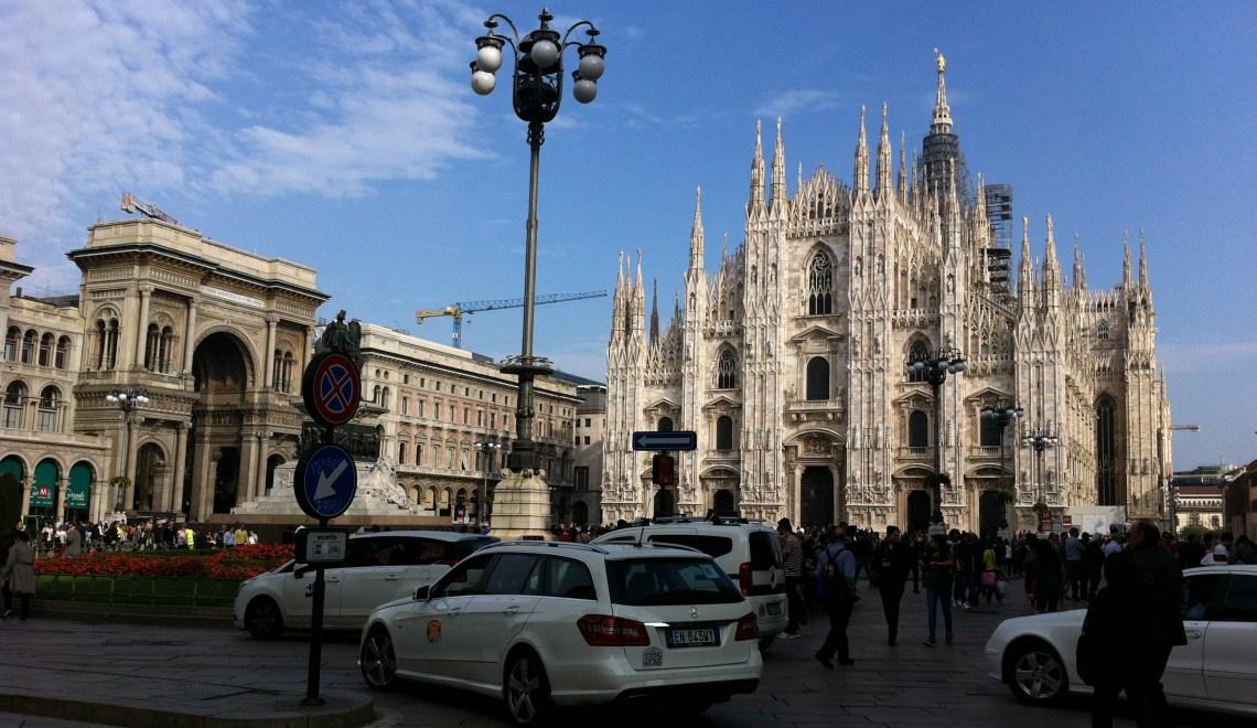 Milano , Hauptstadt der Lombardei