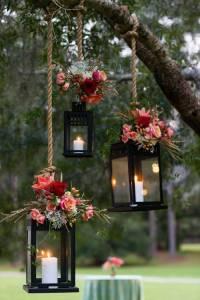 Lanternes Suspendues Branches