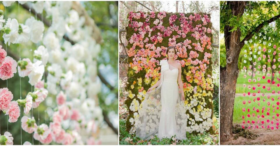 Use a tree as your wedding ceremony arch