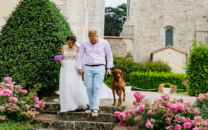 Invite your pet to your wedding ceremony