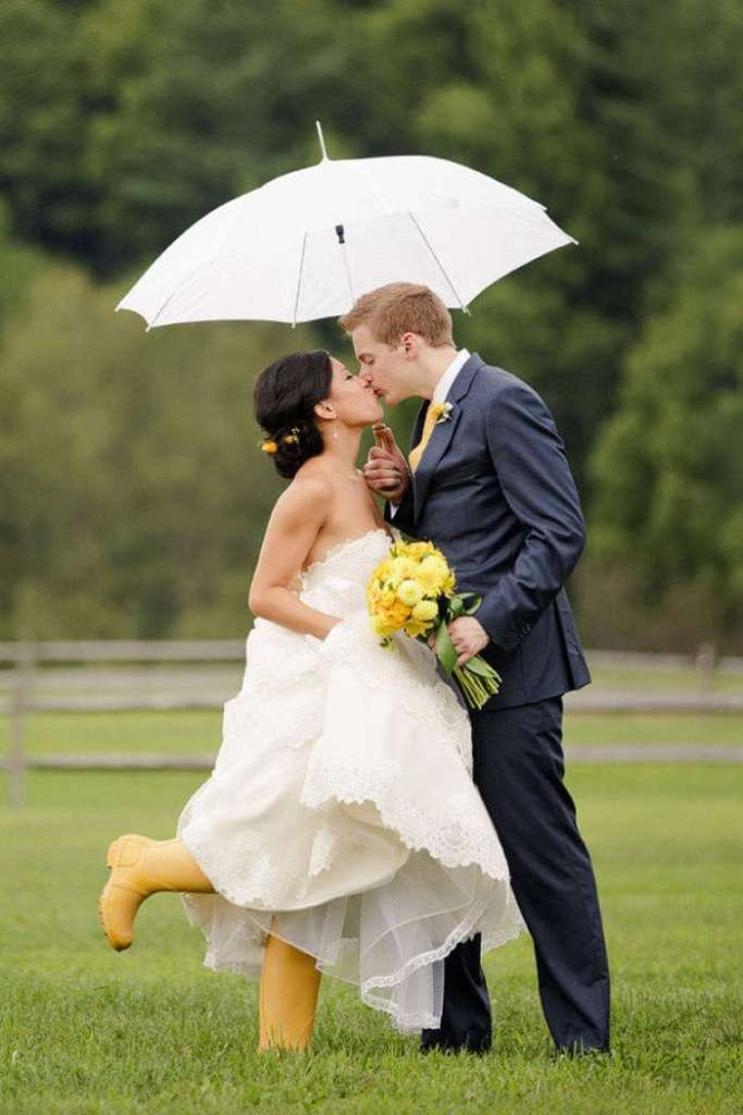 Celebrant tips in case of rain
