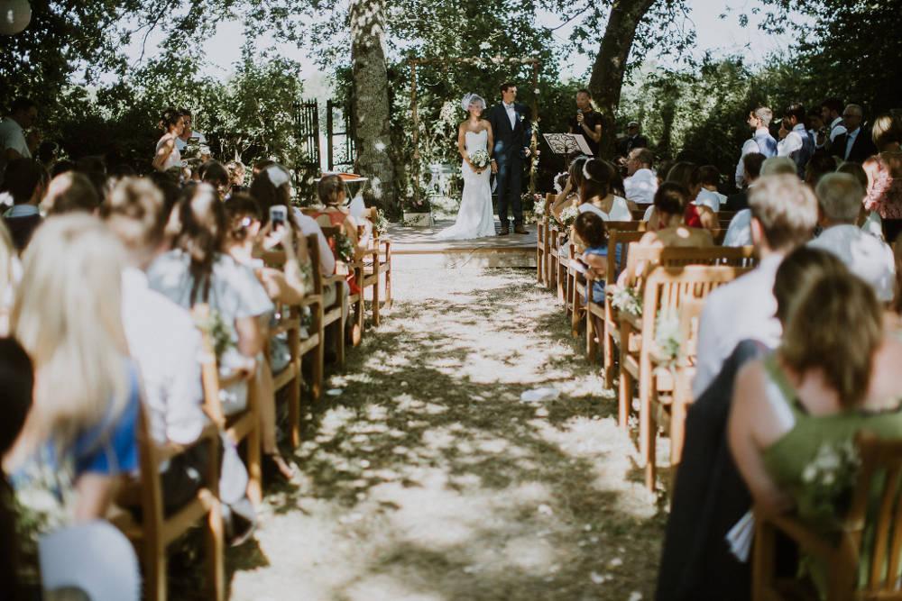 wedding celebrant - wedding ceremony in a castle in france