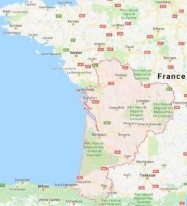 Nouvelle Aquitaine - Touraine