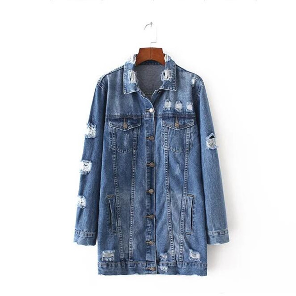 Long Jeans Jacket