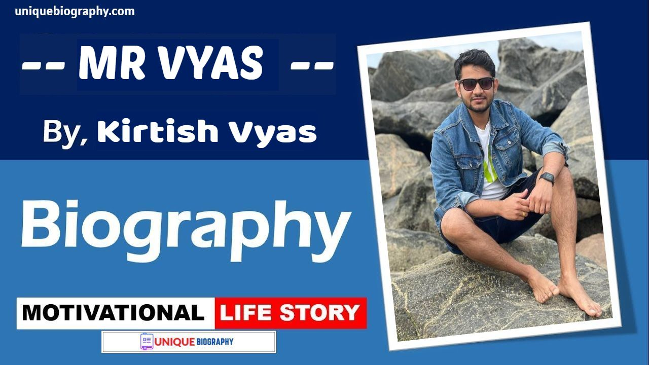Who is Mr Vyas Age, Family, Profession, Wiki, Biography and More | Kirtish Vyas Biography