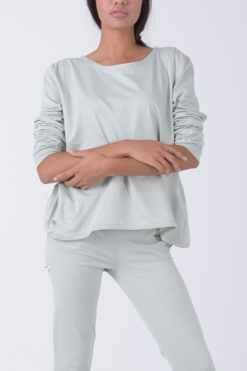 Camiseta amplia