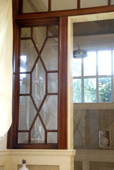 Mahogany Master Bath shower