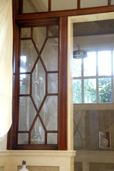 Mahogany Master Bath shower