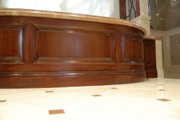 Mahogany Master Tub-close-up