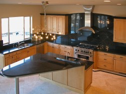 Contemporary Maple Kitchen Cabinetry