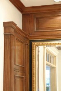 Mahogany Master Vanity Detail