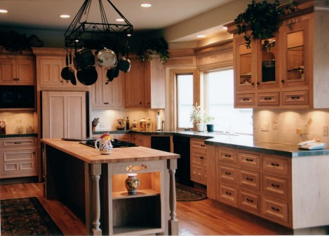Custom Maple Cabinetry