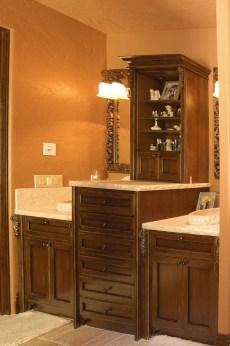 Walnut Glazed Pecan Vanity