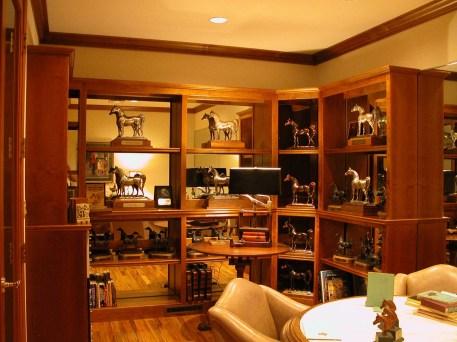 Alder wood display for Trophies