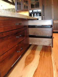 Willamette Walnut Dovetailed Drawers