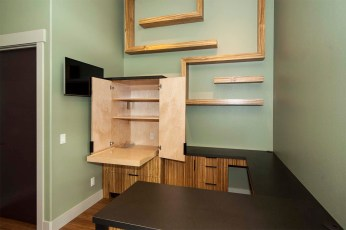 Zebrawood office