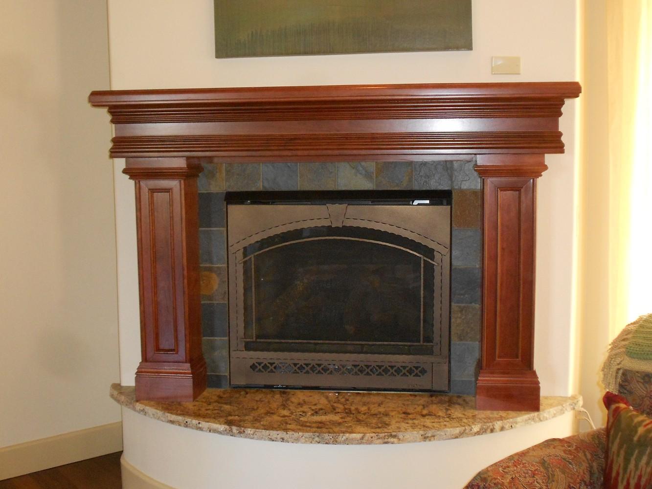 Fireplace Mantels And Surrounds: Unique Design Cabinet Co