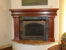 Cherry Mantel