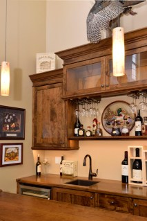 LED Lights & Wine glass hangers