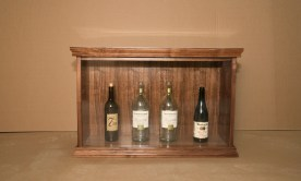 Walnut Adult Beverage Display