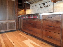 Walnut Kitchen Grain Matching