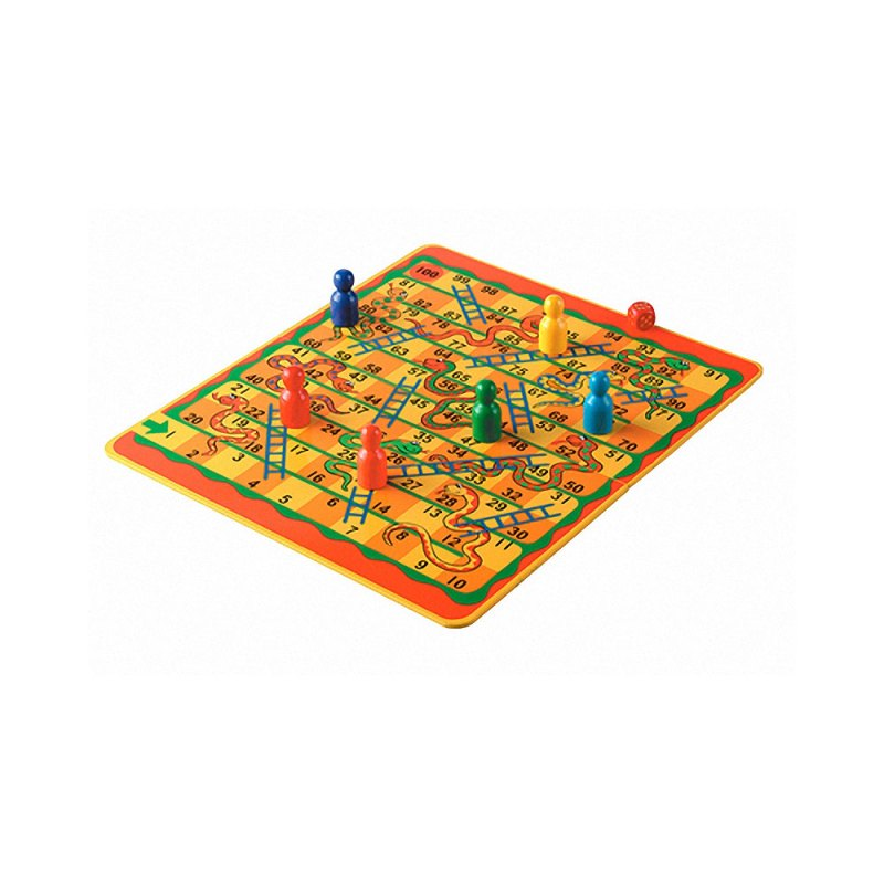 Snakes and ladders 1-100 - artnomore.co.uk