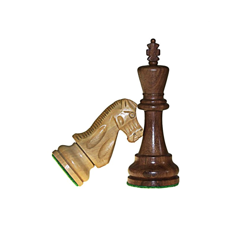 Hand Carved Wooden Chess - artnomore.co.uk