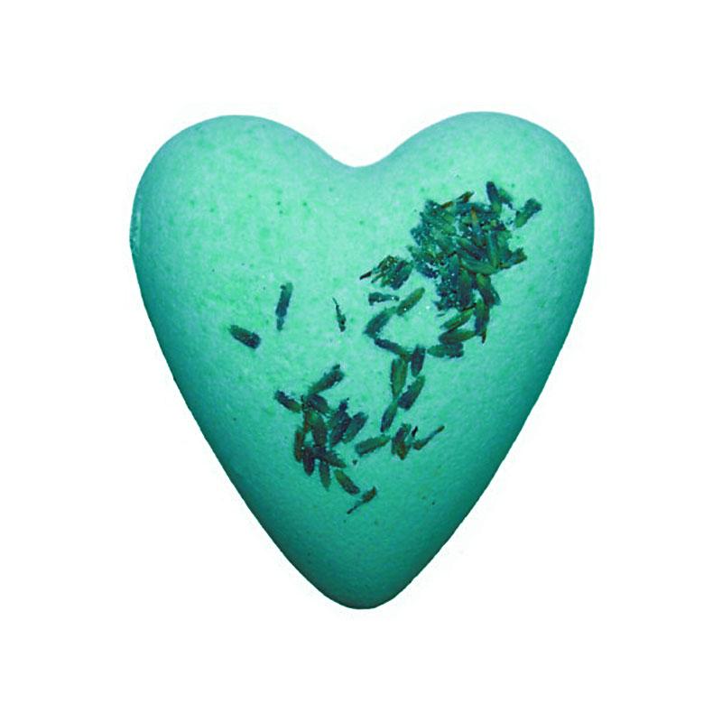 Megafizz Bath Heart - Get Fresh Mint with Peppermint Leaves - artnomore.co.uk