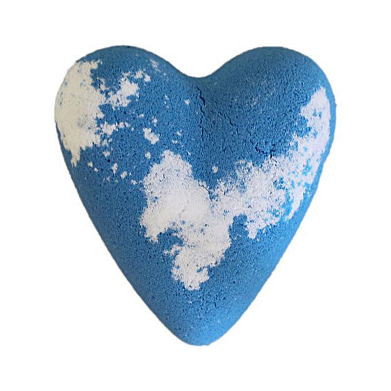 Megafizz bath bomb - Adam bath heart - artnomore.co.uk