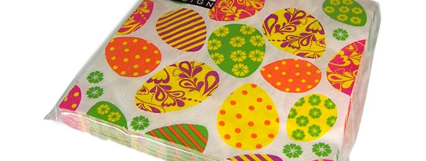 Easter Napkins- Eggs - artnomore.co.uk gift shop