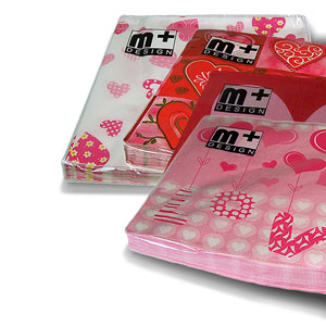 Valentines Day Napkins - artnomore.co.uk gift shop