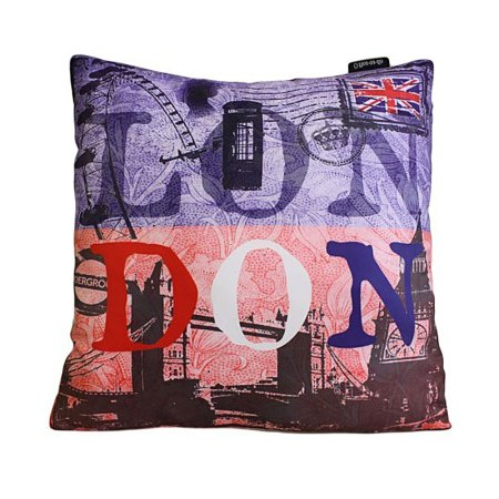 Art Cushion Cover - LONDON - Montage - artnomore.co.uk gift shop