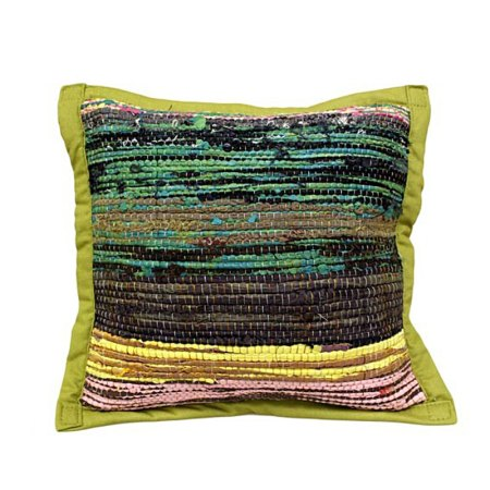 Rug Cushion Cover - Olive - artnomore.co.uk gift shop