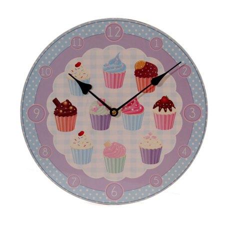 cupcake picture clock