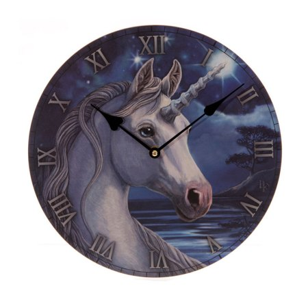 lisa parker unicorn picture clock