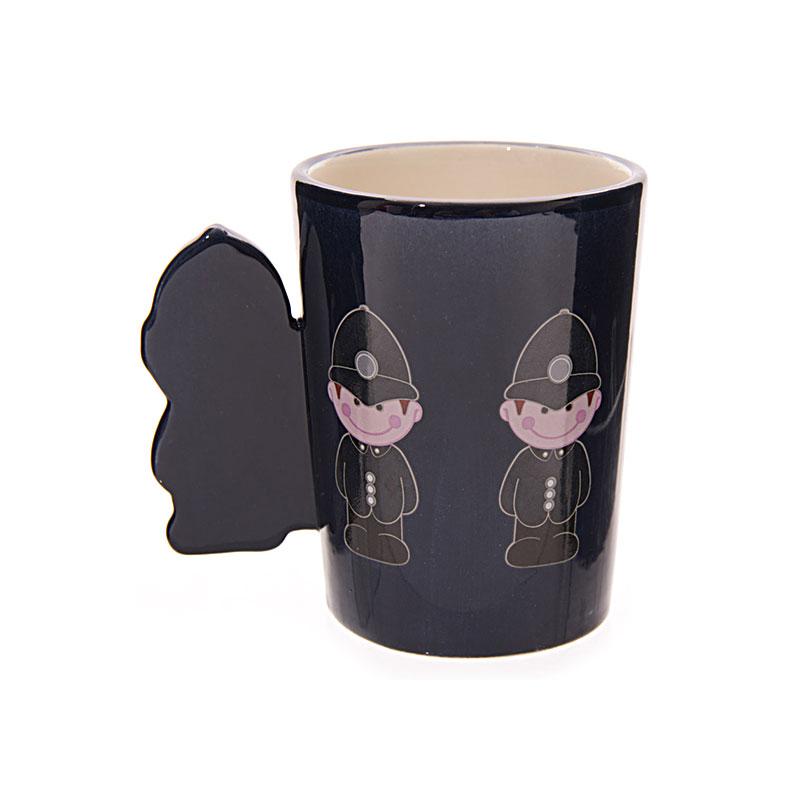 ted smith mugs policeman handle ceramic mug image 3
