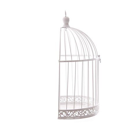 38cm domed wire bird cage decorative image 2