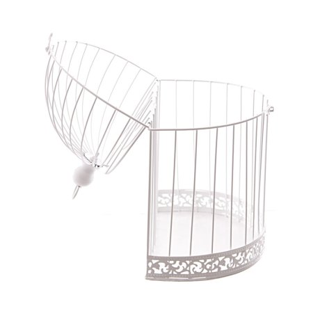 38cm domed wire bird cage decorative image 4