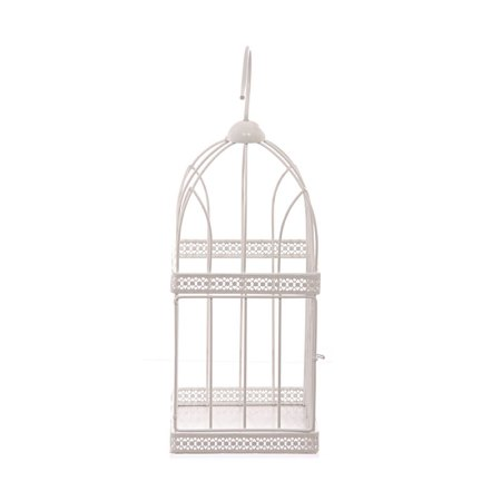 40cm square wire bird cage decorative image 2