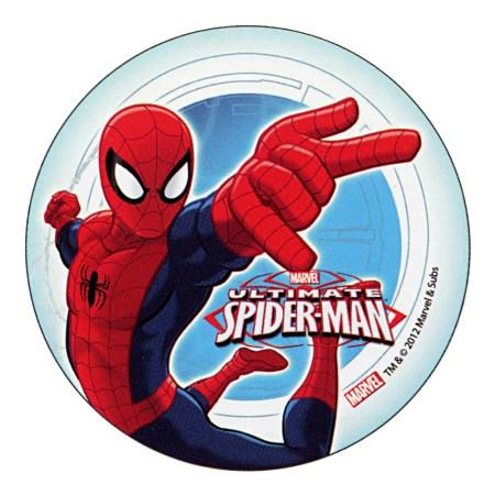 "ULTIMATE SPIDERMAN Cake Topper (5.7"") design 2"