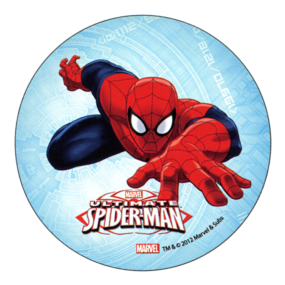 "ULTIMATE SPIDERMAN Cake Topper (5.7"") design 3"