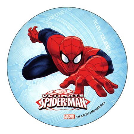 "ULTIMATE SPIDERMAN Cake Topper (5.7"") design 3"