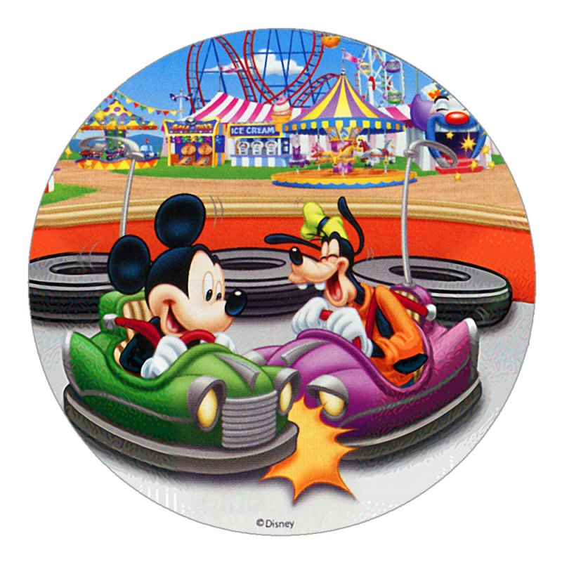 "Disney Mickey Mouse Birthday Cake Toppers (8.27"") Design 2"