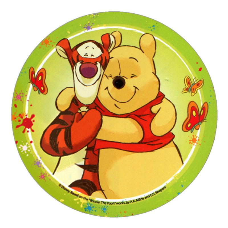 Disney Winnie The Pooh Cake Toppers Design 4
