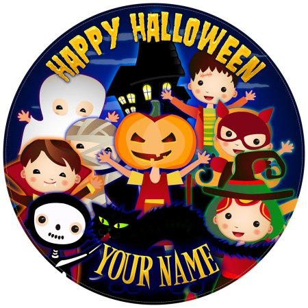 Halloween Cake Toppers Trick Or Treat