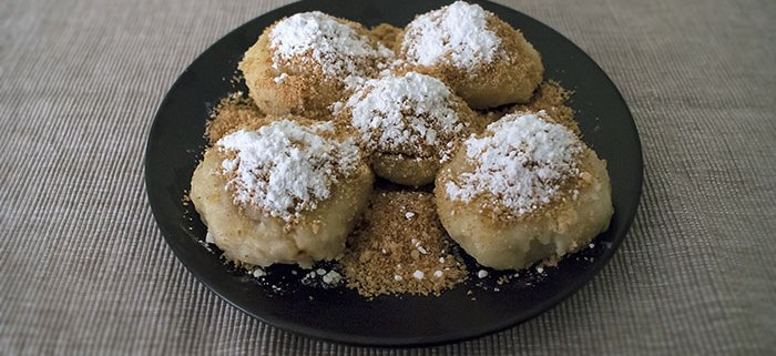 plum dumplings image